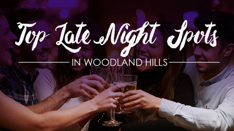 Behold…Woodland Hills Magazine has put together a roundup of the top late night spots in this southwestern slice of the bustling San Fernando Valley, so there's sure to be a selection here to meet any after-dark enthusiast's requirements.