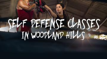 self defense classes in woodland hills