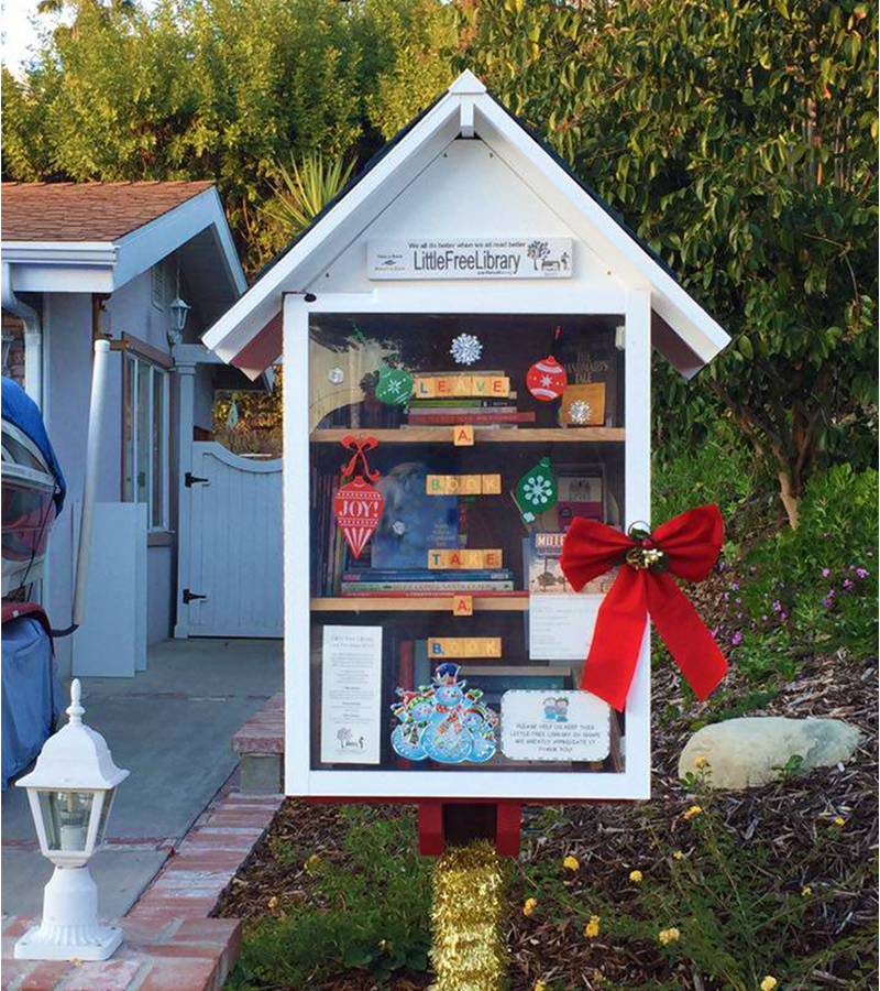 Little Free Library in Woodland Hills