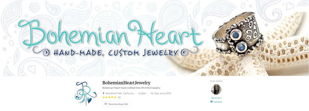 Bohemian Heart Hand crafted One Of A Kind by BohemianHeartJewelry