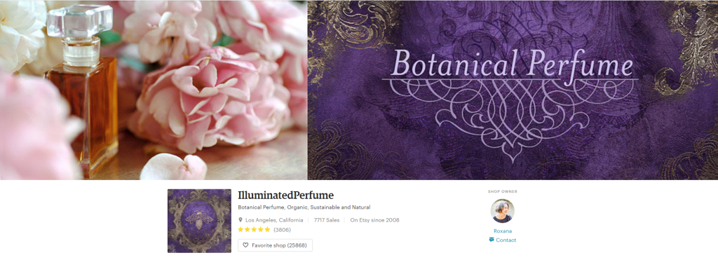 Botanical Perfume Organic Sustainable and by IlluminatedPerfume