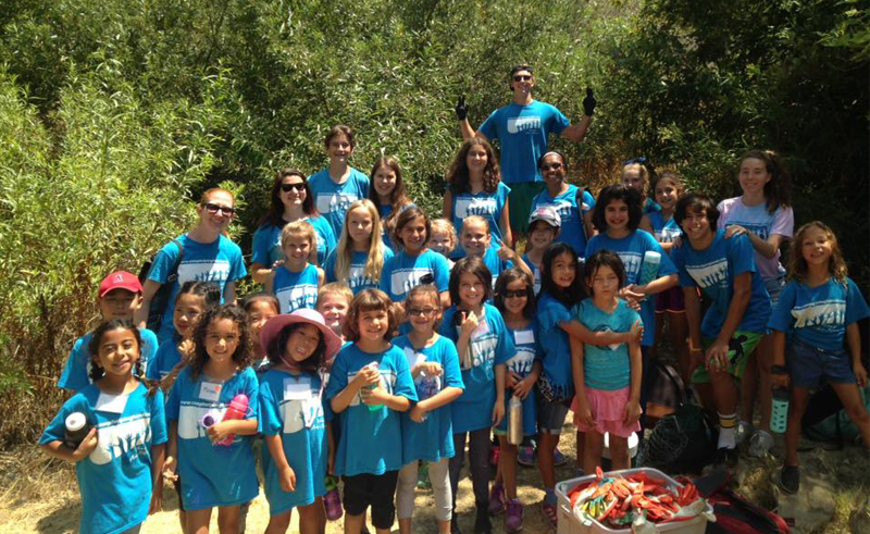 Lend a Helping Hand with Camp Helping Hands near Woodland Hills