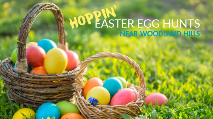 Hoppin' Easter Egg Hunts near Woodland Hills