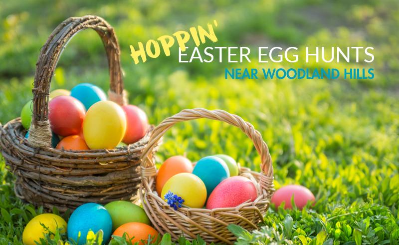 Hoppin' Easter Egg Hunts near Woodland Hills