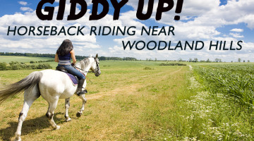 horseback riding near woodland hills