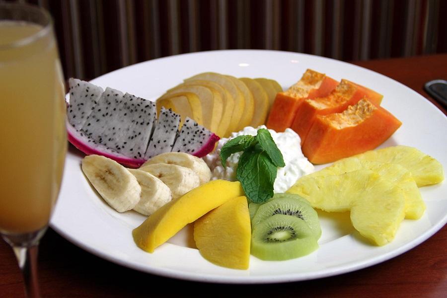 Piatto di frutta
