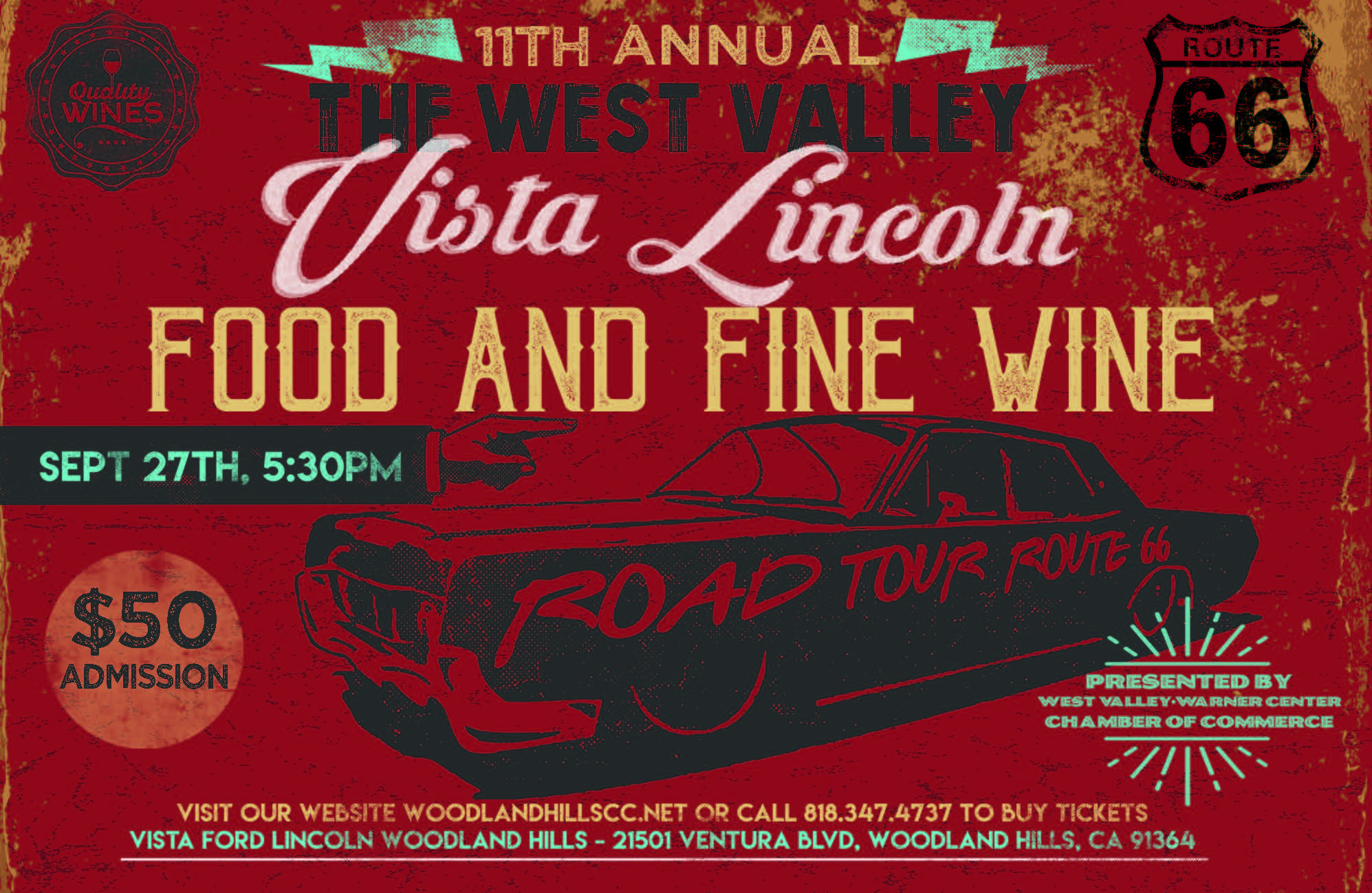 vista foodwine flyer