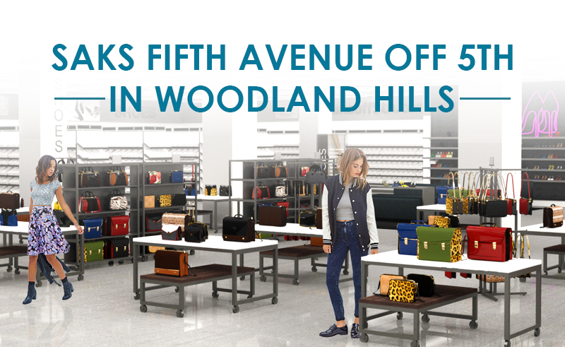 79fb33a1ff Saks Fifth Avenue OFF 5TH Article In Woodland Hills